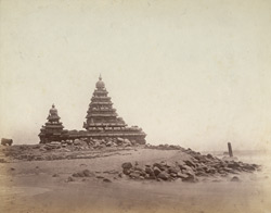 The Shore Temple, Mamallapuram.